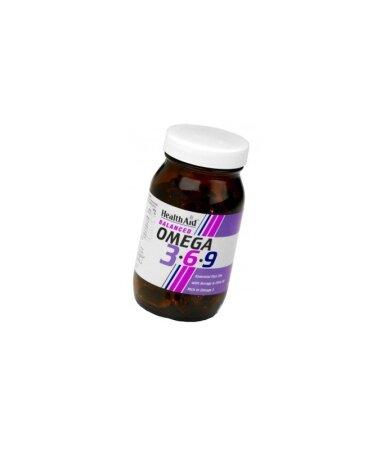 Health Aid HealthAid Ω 3-6-9 (1155mg) 90 Κάψουλες