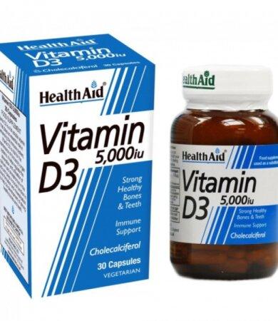 Health Αid Vitamin D3 5000iu 30tabs