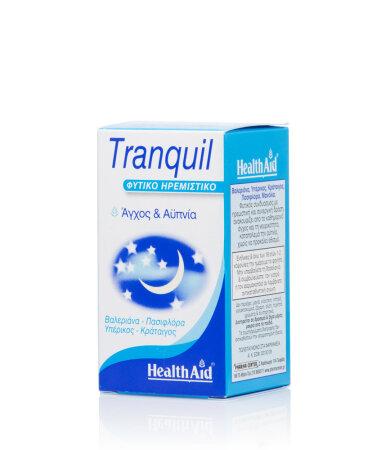 Health Aid Tranquil Natural Calming, Φυτικό Ηρεμιστικό 30 Κάψουλες