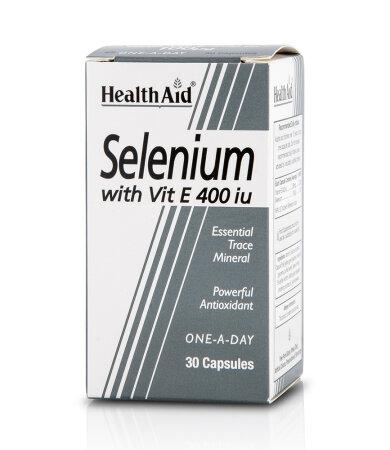 Health Aid Selenium 100mg & Vitamin E 30 κάψουλες