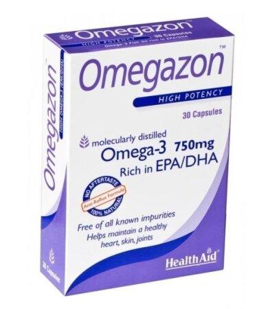 Health Aid Omegazon 750mg 60 κάψουλες