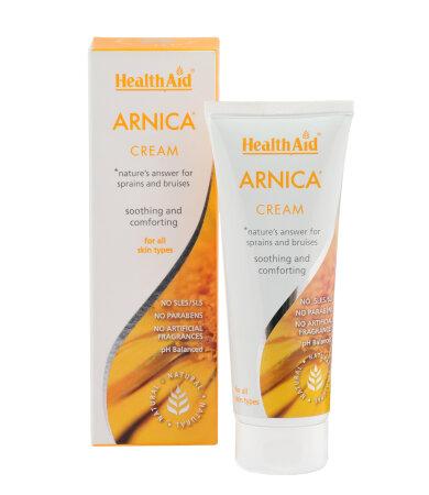 Health Aid Arnica cream 75ml - Επουλωτική κρέμα για μώλωπες & διαστρέμματα