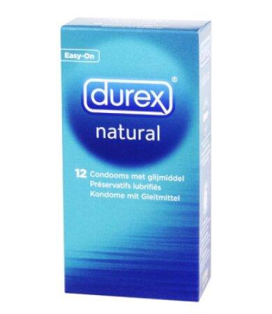 Durex Natural Κλασικά Προφυλακτικά 12 Τεμάχια