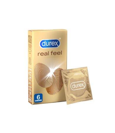 Durex Real Feel Προφυλακτικά 6τμχ