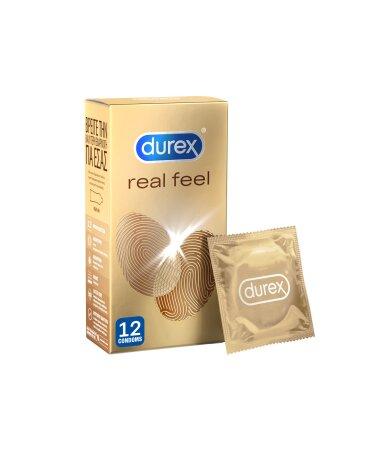 Durex Real Feel Προφυλακτικά 12τμχ