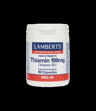 Lamberts Thiamin 100mg 90Caps
