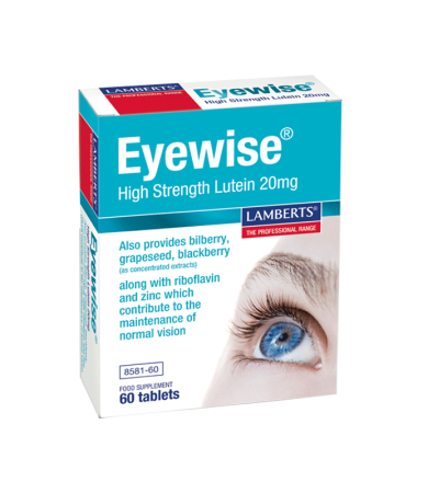 Lamberts Eyewise High Strength Lutein 20mg  60Tabs