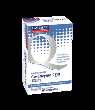 Lamberts Co-Enzyme Q10 100mg 30Caps
