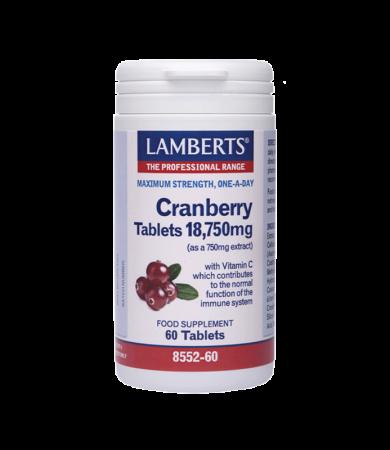 Lamberts Cranberry 18.750mg  60Tabs