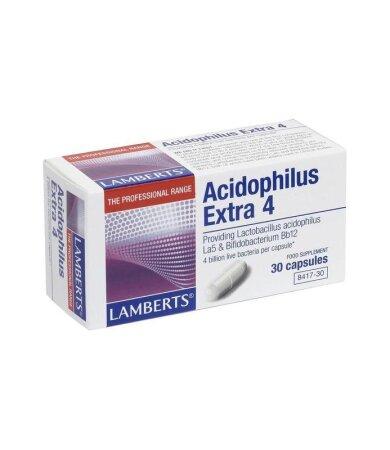 Lamberts Acidophilus Extra 4 (Milk Free) 30caps