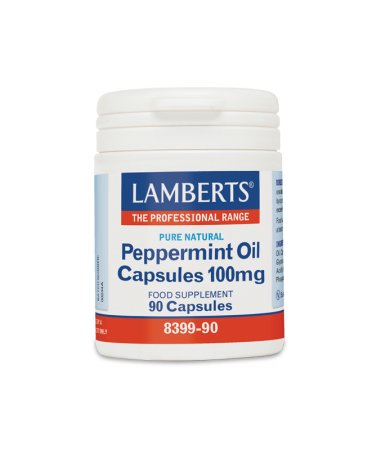 Lamberts Peppermint Oil Capsules 100mg 90caps