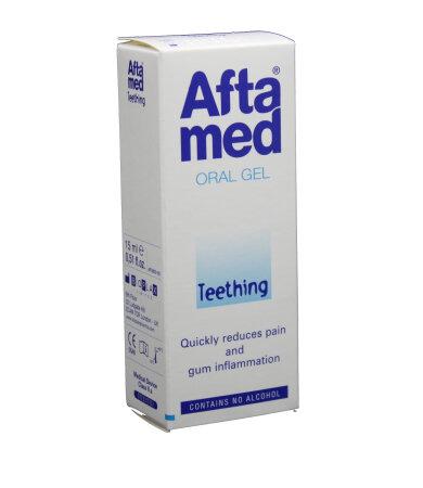 Curaprox Aftamed Teething Gel Τζελ για την ανακούφιση από την Πρώτη Οδοντοφυ_α, 15ml