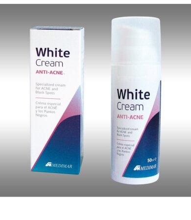 Medimar RUN (White) Cream Anti Acne Κρέμα Προσώπου Κατά της Ακμής 50ml