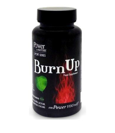 Power of Nature Burnup Συμβάλλει στη Φυσιολογική Λειτουργία του Μεταβολισμού 60caps