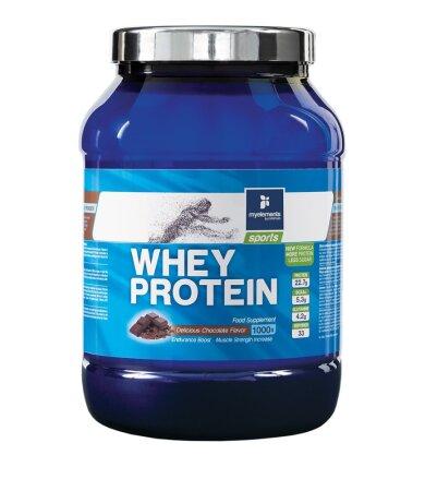 My Elements Sports Whey Protein Πρωτε_νη Με Γεύση Σοκολάτα 1000gr
