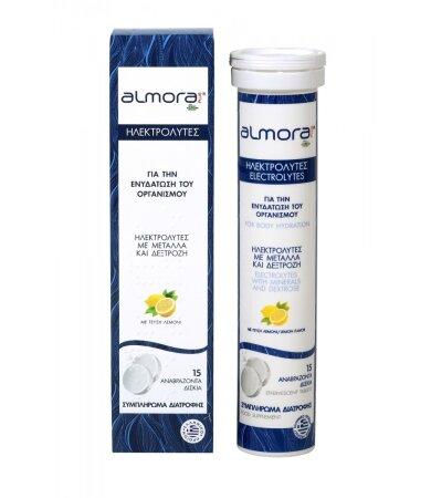 Almora Plus Ηλεκτρολύτες 15 Αναβράζοντα Δισκία