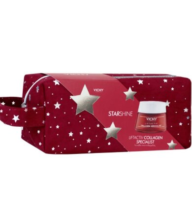 Vichy Promo Starshine Liftactiv Collagen Specialist Αντιγηραντική Κρέμα Προσώπου 50ml & Δώρο Νεσεσέρ