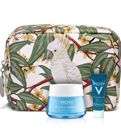 Vichy Aqualia Thermal Gel Cream 50ml για Μικτές Επιδερμίδες & ΔΩΡΟ Νεσεσέρ με το ΝΕΟ Mineral 89 Probiotic 5ml