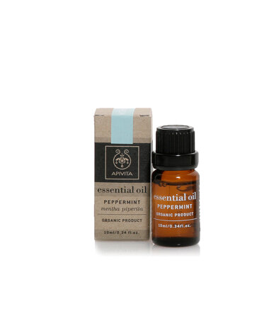 Apivita Essential Oil Peppermint Αιθέριο Έλαιο Μέντα 10ml