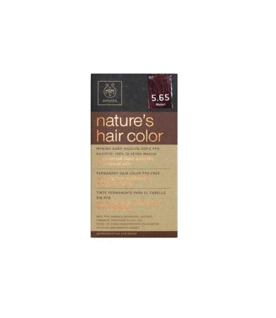 Apivita Nature_s Hair Color Νο5.65 Μαόνι