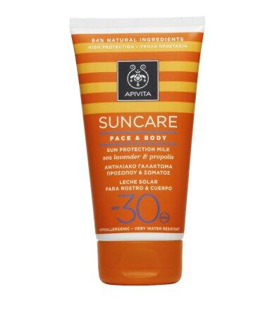 Apivita Suncare Face & Body SPF30 Αντηλιακό Γαλάκτωμα Προσώπου-Σώματος 150ml