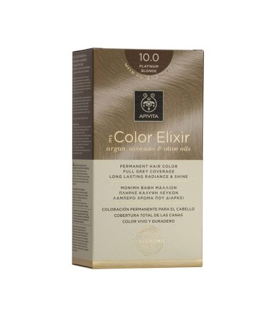 Apivita My Color Elixir Βαφή Μαλλιών 10.0 Κατάξανθο