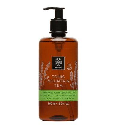 Apivita Eco Pack Tonic Mountain Tea Αφρόλουτρο 500ml