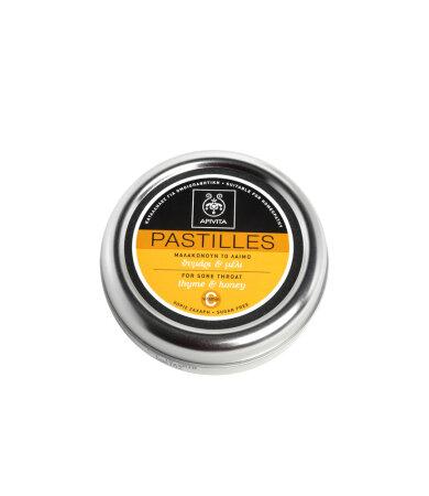 Apivita Παστίλιες για τον Πονεμένο Λαιμό με Μέλι & Θυμάρι 45g