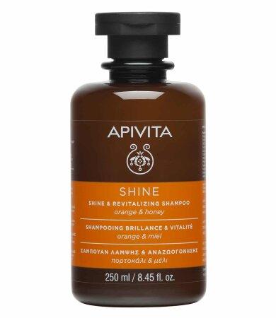 Apivita Σαμπουάν Λάμψης & Αναζωογόνησης με Πορτοκάλι & Μέλι 250ml