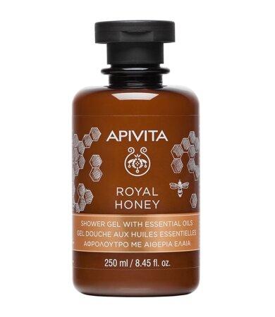 Apivita Royal Honey Κρεμώδες Aφρόλουτρο με Aιθέρια Έλαια 250ml