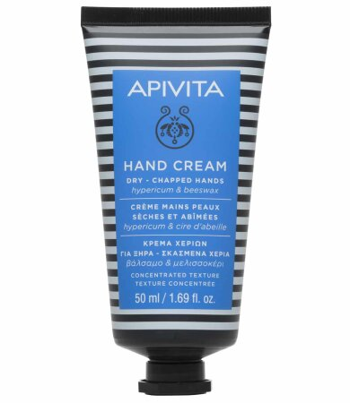 Apivita Κρέμα Χεριών Για Ξηρά - Σκασμένα Χέρια με βάλσαμο & μελισσοκέρι 50ml