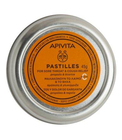 Apivita Παστίλιες με Πρόπολη & Γλυκόριζα 45g