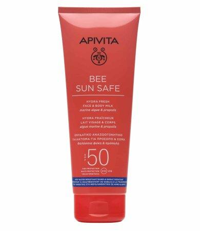 Apivita BEE SUN SAFE Αναζωογονητικό Γαλάκτωμα Πρόσωπο & Σώμα SPF50 200ml