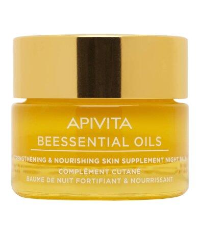 Apivita Beessential Oil Balm Συμπλήρωμα Ενυδάτωσης και Θρέψης της Επιδεμίδας 15ml