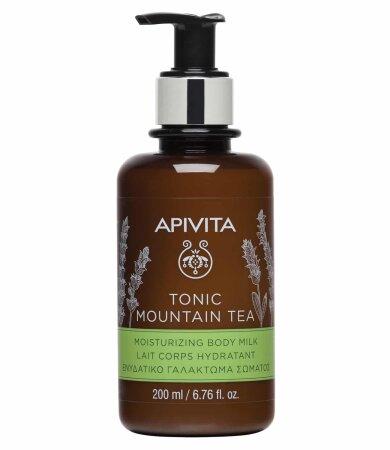 Apivita Tonic Mountain Tea Ενυδατικό Γαλάκτωμα Σώματος 200ml
