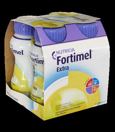 Nutricia Fortimel Extra με γεύση Βανίλια 4*200ml