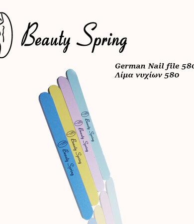 Beauty Spring Λίμα Μαύρη Γυαλιστική 580