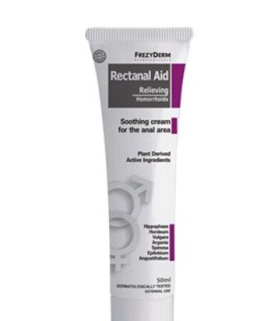 Frezyderm Rectanal Aid Cream Κρέμα για Αιμορροϊδες 50ml