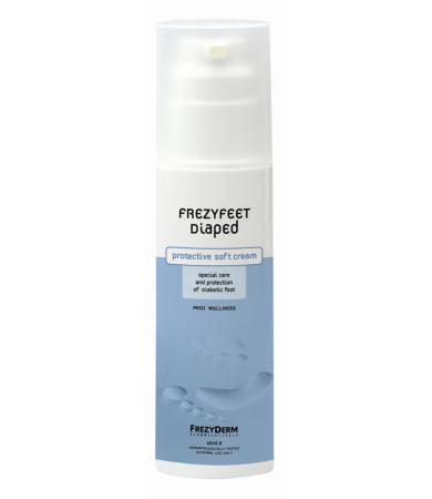 Frezyderm Frezyfeet Diaped Cream, Προστασία Διαβητικόυ Ποδιού 125ml