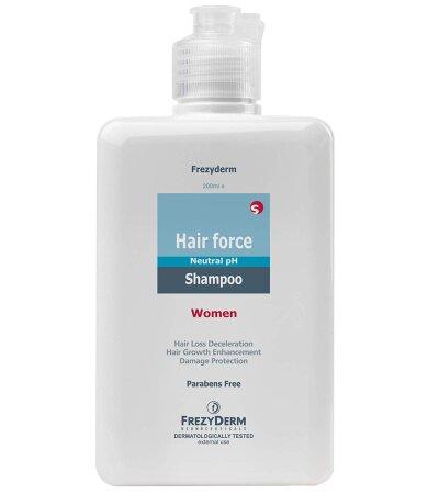 Frezyderm Hair Force Shampoo Women, Σαμπουάν για την Γυναικεία Τριχόπτωση 200ml