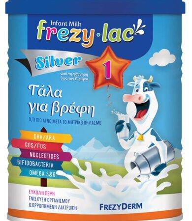 Freazyderm Frezylac Silver No1 Αγελαδινό Γάλα σε Σκόνη έως 6 Μηνών 400gr