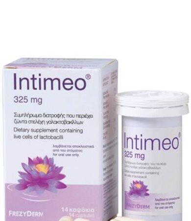 Frezyderm Intimeo - Συμπλήρωμα Διατροφής με ζώντα στελέχη γαλακτοβακίλλων 14caps