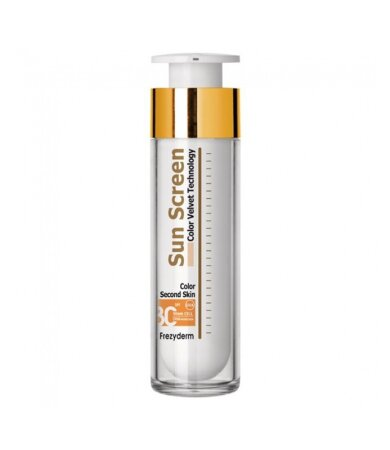 Frezyderm Sun Screen Color Velvet Face Cream SPF30 Αντηλιακό Προσώπου με Χρώμα 50ml