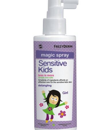 Frezyderm Sensitive Kids Magic Spray for Girls - Μαλακτική Λοσιόν 150ml