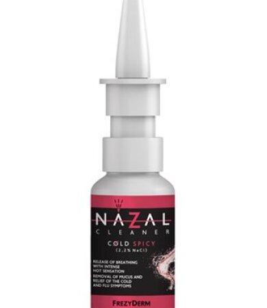 Frezyderm Nazal Cleaner Cold Spicy Ρινικό Σπρέι για Έντονο Κρυολόγημα 30ml