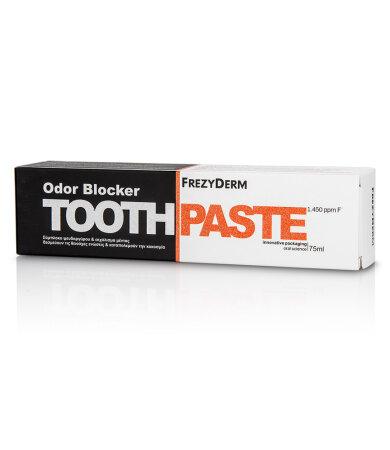 Frezyderm Toothpaste Odor Blocker 1450ppm Για την Καταπολέμηση της Κακοσμίας 75ml