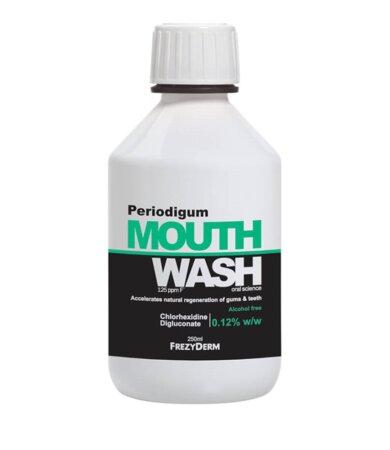 Frezyderm Periodigum Mouthwash Φθοριούχο Στοματικό Διάλυμα Κατάλληλο για Περιοδοντίτιδα 250ml