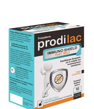 Frezyderm Prodilac Immuno Shield Fast Melt, Συμπλήρωμα Διατροφής 10 Φακελάκια