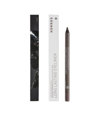 Korres Volcanic Minerals Long Lasting Eyeliner - 02 Brown
