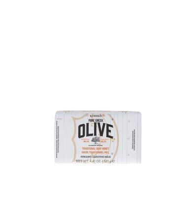Korres Olive, Πράσινο Σαπούνι με Μέλι 125gr